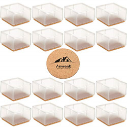 Large Table Leg Floor Protectors 1-15/16 To 2-1/16 49mm-53mm 16 Pack