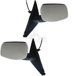 Exterior Mirror Set For Bmw 5er E60 03-10 Memory Electric Right And Left Set 54l