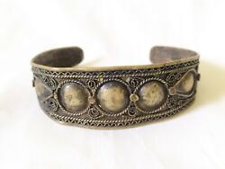 Ancient Bracelet Bronze Vintage-antique Viking Style Old Very Rare Old Jewelry