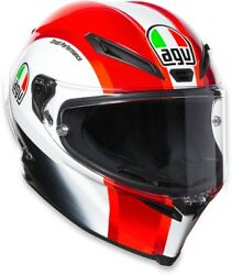 Corsa R Full Face Street Motorcycle Helmet Red Large Agv 216121o1hy00309