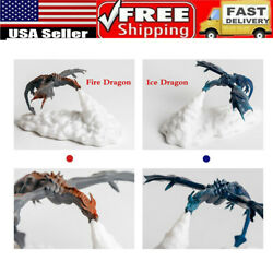 3d Fire-breathing Dragon Night Light Home Decor Led Lamp Usb Rechargeable Usa