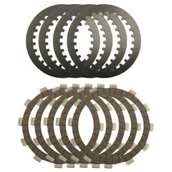 9pcs Clutch Plates For Yamaha Xv250 Virago 250 V-star Route 66 Motorcycle Parts
