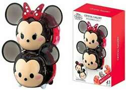 Disney Land 41 Piece Crystal Gallery Disney Tsum Tsum Mickey Andminnie Mouse Gift