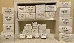 Dept. 56 Snow Village Lot Of 35 Including 17 Buildings And 18 Accessories