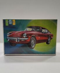 Vintage 1969 Triumph Gt6+ Coupe Pyro Plastics Model Car Kit C503-200 Nos Sealed