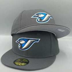 Toronto Blue Jays Basic Authentic Collection 59fifty New Era Gray Fitted Hat