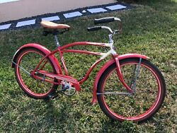 1940's Rollfast Bicycle 24 Skip-tooth Antique Americana