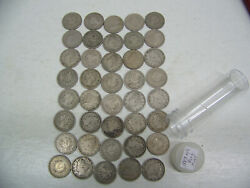 1883 Liberty V Nickel - No Cents - Fine 1 Circulated Roll