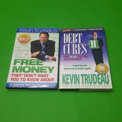 🔥2 Books Free Money And Debt Cures By Kevin Trudeau Money, Investing