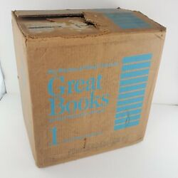 Britannica Great Books Of The Western World 1978 Printing Original Boxes Sealed