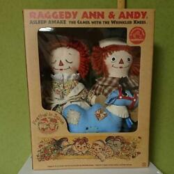 Raggedy Anne And Andy Festival 2002 In Japan Limited Soft Plush Doll Stuffed Rare