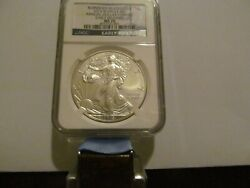 2015 W 1 Burnished Annual Unc. Dollar Coin Set Silver Eagle Ms70 Early Releases