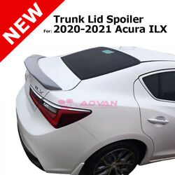 For Acura Ilx 20-21 Rear Trunk Spoiler Flush Mount Factory Style Primered Primer