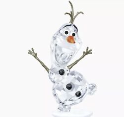 New In Box Authentic Disney Frozen Olaf Crystal Figurine 5135880