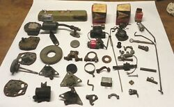 Huge Lot 1940s-70s Mopar Electrical Switches Parts Some Nos From Old Dealership