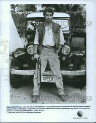 1986 Press Photo Wayne Crawford Stars In The Title Role Of Jake Speed