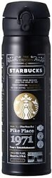 Starbucks Story Black Cool Stainless Bottle Thermos Tumbler Limited 500ml New