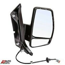Ford Transit Custom 2012-2019 Wing Mirror Door Black Manual Complete Right Side