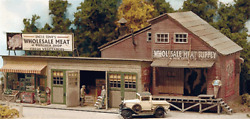Bar Mills 112 Four Fingered Tony's Wholesale Meat And Butcher Shop | Ho Scale