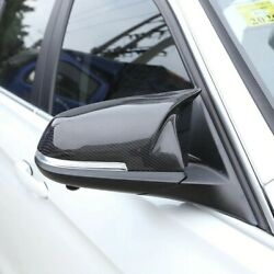 For Bmw 1 Series F21 Lci Mirror Cover Abs Carbon Fiber Rear View Side Caps Trim