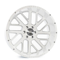 22 Inch 22x12 Axe Forged Ax2.3 White Milled Wheels Rims 8x170 -44