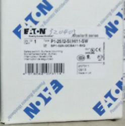 1pc Eaton Moeller P1-25/i2-si/hi11-sw Safety Switch New In Box
