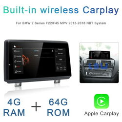 Android Car Gps Radio Stereo 8 Core Bt Wireless Carplay For Bmw 2 Series F22 F45