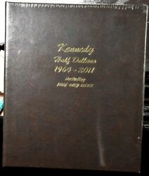 Kennedy Half Dollar 1964-2011 With Proof -dansco Coin Album 8166 New Sealed