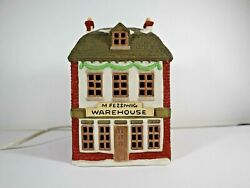 Department 56 A Christmas Carol/ Dickens Series 1986 M Fezziwig Warehouse