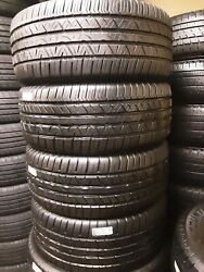 Set Of 4 235/45/17 Cooper Zeon Rs3-g1 8/32nds Dot 0119 High Tread Like New