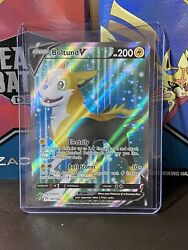 Boltund V 181/192 Rebel Clash Pokemon Card Holo Full Art Ultra Rare Mint Psa 10