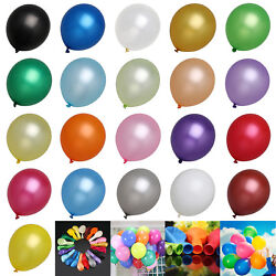 Birthday Wedding Baby Shower Bachelorette Party Pearl Latex Balloons 12 Baloons