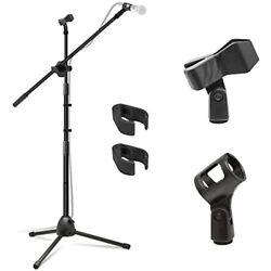 Kasonic Microphone Stand Heavy Duty Adjustable Collapsible Tripod Boom Stands 2