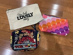 Vera Bradley cosmetic bag small And Other Brands $15.00