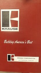 Kuhn Krause Parts Manual For 7400-41 7400-46 Disc Harrow