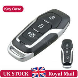 3 Button Remote Smart Key Fob Case For Ford Edge Mondeo S-max Galaxy Mustang Uk