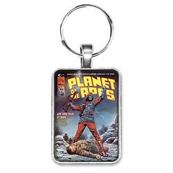 Planet Of The Apes Magazine 11 Cover Key Ring Or Necklace Sci-fi Comic Book