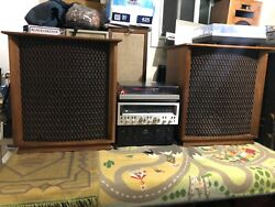 Altec Lansing 846a Valencia Speakers Vintage Pick Up Only