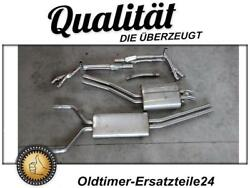 Stainless Steel Exhaust System For Mercedes 500sl R107