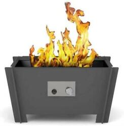 Groovebox Gas Fire Pit With Optional Table Top