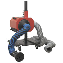 Sealey Exhaust Fume Extractor With 6m Ducting -efs/93