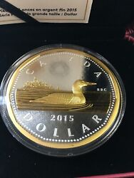 2015 Big Coin Series, Rcm Proof, 5 Oz Silver, The 1 One Dollar Coin
