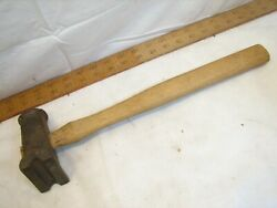 Antique Atha Blacksmith Rounding Forming Hammer Forging Tool Sledge Forge Swage