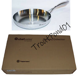 Tupperware Chef Series Culinary Collection 9.5 Inch Fry Pan Frying New Nrfb