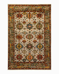 Solo Rugs - One-of-a-kind Oriental Serapi Handmade Area Rug Multi 5and039 9 X 8and039 9