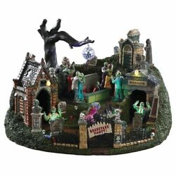 Lemax Spooky Town Collection 2019 Graveyard Party