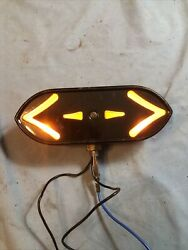 Vintage Antique Arrow Turn Signal Light Hot Rat Rod Truck Model A T Ford Chevy