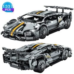 Car Speed Model Toys Super Bricks Technic Blocks Champion Creative For Childrens