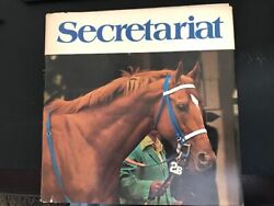 Secretariat, Hard Cover Photo Book From Ray Woolfe, First Edition