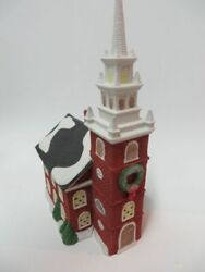 Dept 56 Heritage Village Collection Old North Church New England Village Series